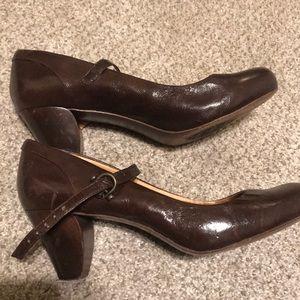 Frye Mary Jane heels